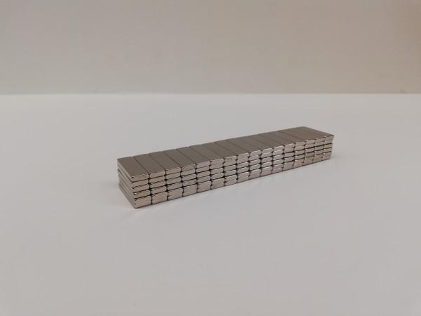 Neodym-Rechteckmagnet (Premium), diametral magnetisiert