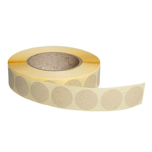 Verschlussetiketten permanent (Premium) aus Graspapier 1
