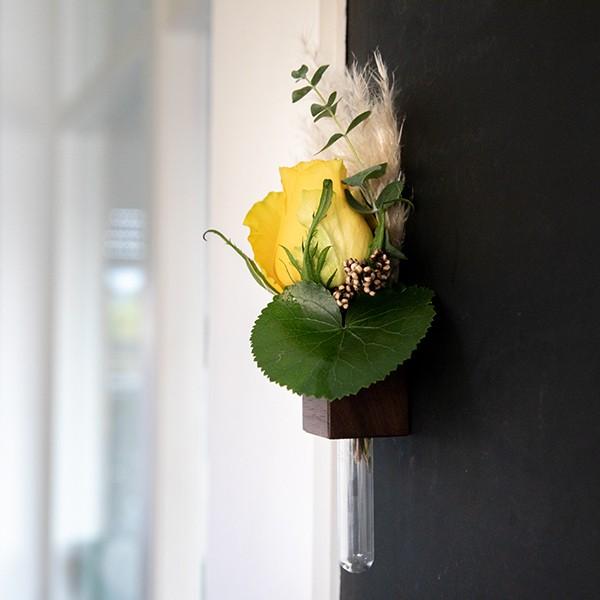 Magnetische Holzblumenvase 4