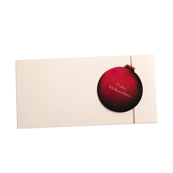Weihnachtsgrußkarte mit magnetischem Verschluss 1