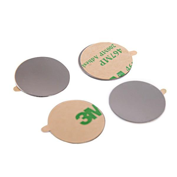 Metallplättchen, selbstklebend (Standard), rund