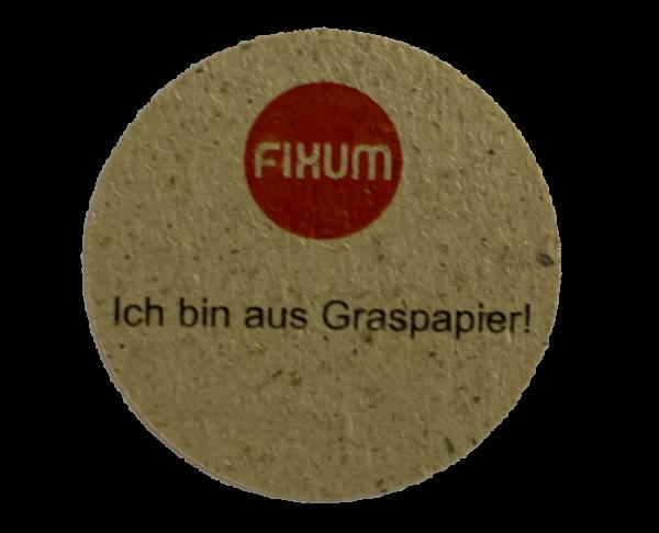 Verschlussetiketten permanent (Premium) aus Graspapier