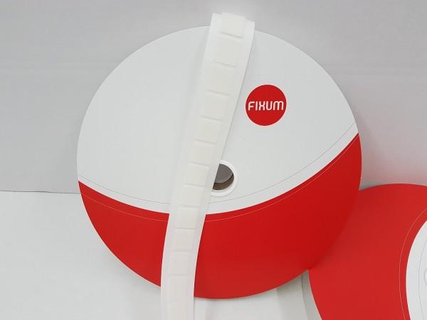 Quadrate aus Kunststoffhaken selbstklebend (Premium), weiß