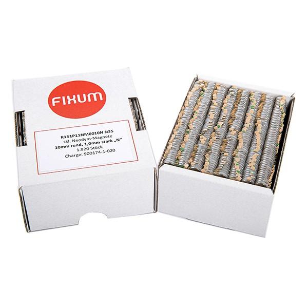 Scheibenmagnete selbstklebend (Premium), sortenrein 1
