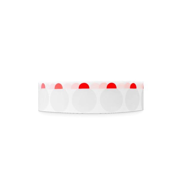 Verschlussetiketten ablösbar (Premium) transparent mit Lasche