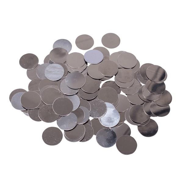 Metallplättchen (Standard), rund