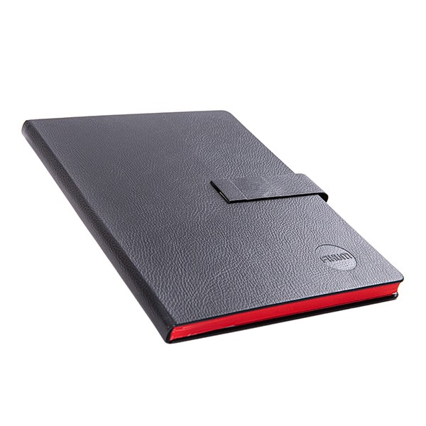 Notizbuch mit Ledereinband und Magnetverschluss (DIN A5) 1